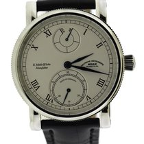 Mühle Glashütte Steel 44mm Manual winding M1-11-15-100-LB new United States of America, New York, New York
