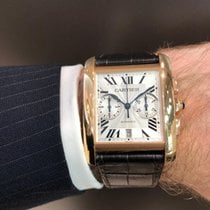 Cartier Tank MC Or rose Argent France, Paris