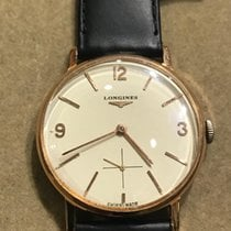 Longines 35mmmm Manual winding 1950 pre-owned Gold
