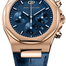 Girard Perregaux Laureato Or rose 42mm Bleu