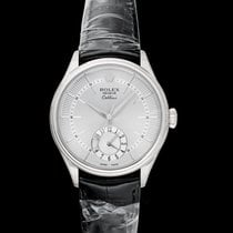 Rolex Cellini Dual Time White gold