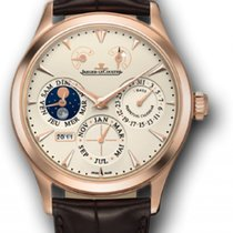 Jaeger-LeCoultre Master Eight Days Perpetual Ouro rosa 40mm Champanhe Sem números