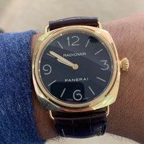 Panerai Yellow gold 45mm Manual winding PAM 00231 pre-owned