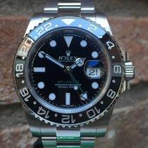 Rolex GMT-Master II Staal 40mm Zwart