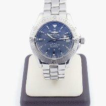 Breitling Colt Automatic Steel 38mm Blue No numerals United States of America, Nevada, Las Vegas