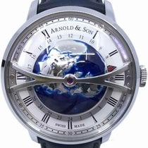 Arnold & Son Steel 45mm Automatic 1WTAS.S01A.D137S pre-owned United States of America, Florida, Naples