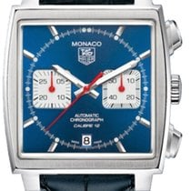 TAG Heuer Monaco Steel 38mm Blue No numerals United States of America, New York, New York