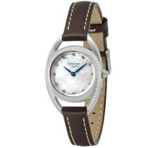 Longines Equestrian Steel 23mm Mother of pearl