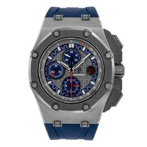 Audemars Piguet Royal Oak Offshore Chronograph Platinum 44mm Grey No numerals United States of America, New York, New York