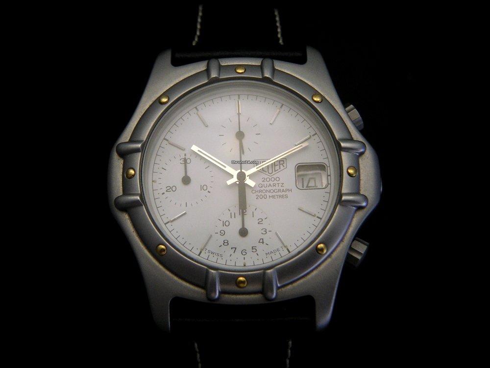 heuer 2000 chronograph quartz verkauft auf chrono24. Black Bedroom Furniture Sets. Home Design Ideas