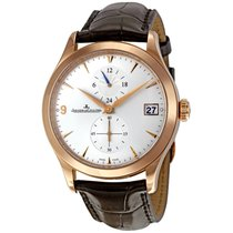 Jaeger-LeCoultre Master Hometime Rose gold 40mm Silver No numerals United States of America, New York, Greenvale