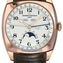 Vacheron Constantin Harmony Rose gold 40mm Silver United States of America, New York, Airmont