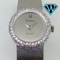Certina Classic lady solid gold / diamonds