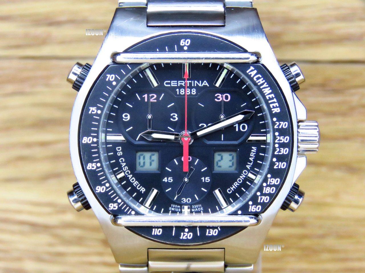Použité hodinky Certina  45245dbbc9