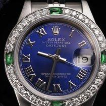 Rolex Lady-Datejust Acero 26mm Azul Romanos