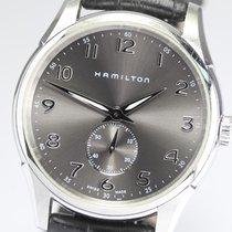 Hamilton Jazzmaster Thinline H38411783 Hamilton Jazzmaster Piccoli Secondi Nero 40mm 2020 nouveau