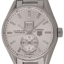 TAG Heuer : Carrera GMT Big Date :  WAR5011.BA0723 :  Stainles...