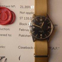 """Omega Rare unpolished vintage Omega Military """"PAF"""" 30,..."""