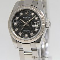 Rolex Datejust Stainless Steel 18k Gold Jubilee Diamond Dial...