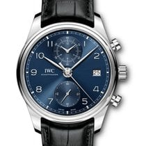 IWC Portuguese Chronograph new 2018 Automatic Chronograph Watch with original box and original papers IW390303