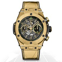 Hublot Big Bang Unico Yellow Gold Usain Bolt 45mm - 411.VX.118...