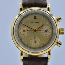 Juvenia Yellow gold 35mm Manual winding pre-owned