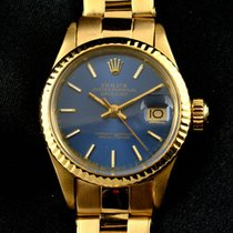 Rolex - Oyster Perpetual Date Yellow Gold - 18K- Women -...
