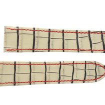 Cartier Santos 100 Vintage White Alligator Strap
