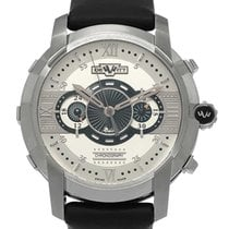 Dewitt Chronograph 46mm Automatic new Silver