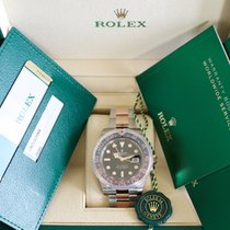 勞力士 NEW Rolex 126711CHNR NEW GMT Master II SS/18K ROOT BEER