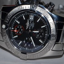 Breitling Avenger II Steel 43mm Black No numerals United States of America, New York, Greenvale