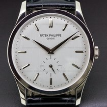 Patek Philippe 5196G-001 Calatrava 18K White Gold Manual Wind...