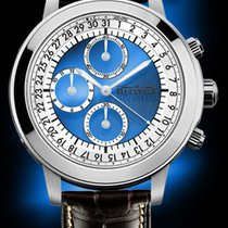 Quinting Chronograph 43.5mm Quarz gebraucht Transparent