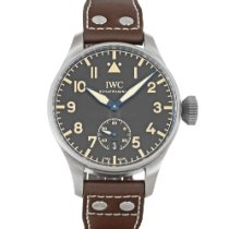 IWC Big Pilot pre-owned 48mm Black Date Leather