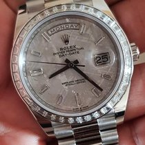 Rolex 228396TBR Platinum Day-Date 40 40mm new