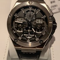 IWC Ingenieur Perpetual Calendar Digital Date-Month Titanium 46mm Black