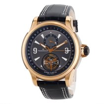 Jaeger-LeCoultre Master Compressor Extreme Tourbillon Rose gold 46.3mm Black Arabic numerals