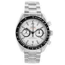 Omega Speedmaster Racing pre-owned 44.2mm White Chronograph Date Steel