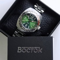 Vostok Acier Remontage automatique Amphibian 1967 190b03 Limited Edition. occasion France