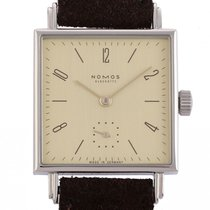 NOMOS Tetra 27 new Manual winding Watch with original box and original papers 472