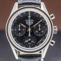 TAG Heuer Carrera Steel 39mm Black Arabic numerals United States of America, Massachusetts, Boston