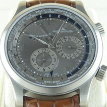 Jaeger-LeCoultre Master World Geographic Titane 42mm Gris Arabes