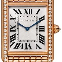 Cartier Tank Louis Cartier Rose gold Silver