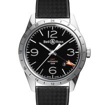 Bell & Ross BR V2 Steel 41mm Black Arabic numerals United States of America, New Jersey, Princeton