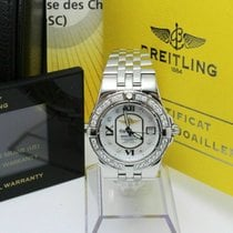 Breitling Steel Quartz Mother of pearl 30mm pre-owned Galactic 30