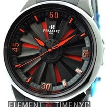 Perrelet Steel 44mm Automatic a1047/3 new