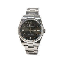 Rolex Oyster Perpetual 39mm Rhodium