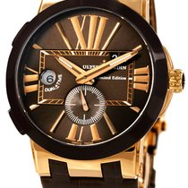 Ulysse Nardin Executive Dual Time Rose gold Brown United States of America, New York, Brooklyn