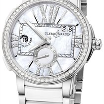 Ulysse Nardin Executive Dual Time Lady Unworn Steel 40mm Automatic United States of America, New York, Airmont