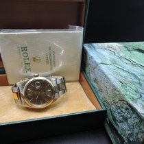 Rolex DATEJUST 1601 2-Tone SS/Gold ORIGINAL Grey Dial with Paper